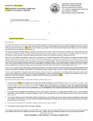 Disabled Vet Change of Eligibility Report (BOE-261-GNT)