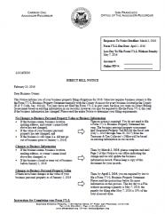 Direct Bill Notice