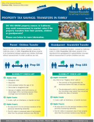 Fact Sheet -- Transfers in Family